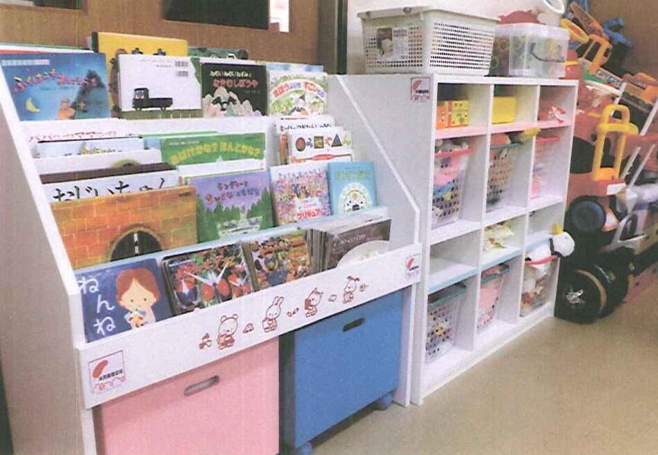 備品購入事業(園児用収納棚)